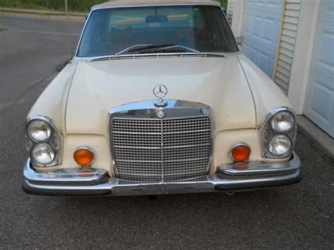 Buy Used Classic Low Grill 1970 Mercedes Benz 280sel Sedan
