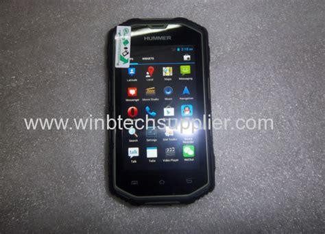 Ip68 Real Waterproof Hummer H5 Smart Phone Mtk 6572a 1