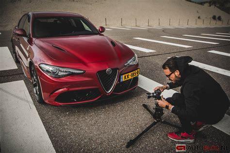alfa romeo giulia quadrifoglio rijtest en video autoblognl