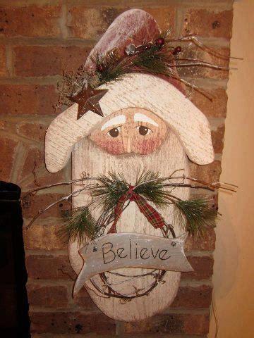 images  santa  pinterest wood crafts sled