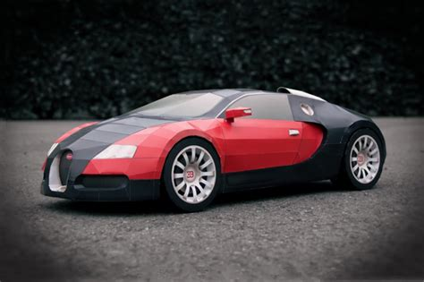 Bugatti Veyron Made by Bugatti Veyron Made From A4 Paper Hypebeast