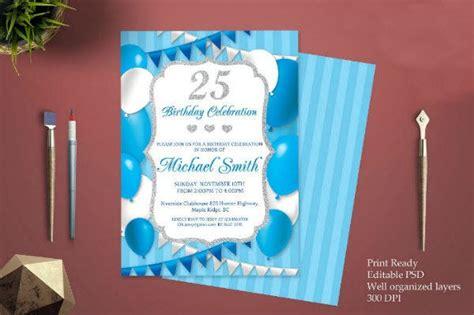 14+ Boy Birthday Invitation Designs & Templates PSD AI