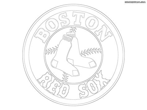 Boston Red Sox Coloring Pages - Car-essay