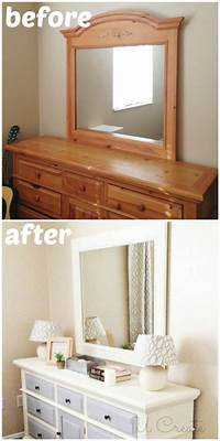 how to use chalkboard paint How To Use Chalk Paint - Dresser Makeover - U Create