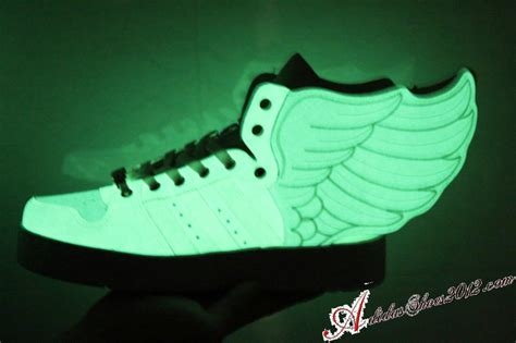 Glow In The Dark Adidas Shoes