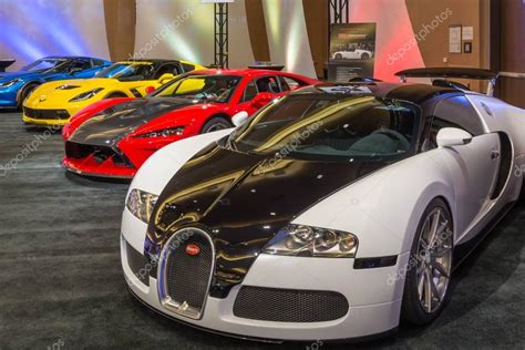 Latest details about bugatti veyron's mileage, configurations, images, colors & reviews available at carandbike. Bugatti Veyron, Falcon F7, and Lingenfelter Z06 Corvette - Stock Editorial Photo © slagreca ...