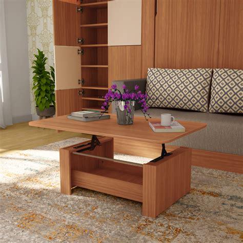 Buy Transpose Coffee Cum Dining Table In Brown Godrej Interio