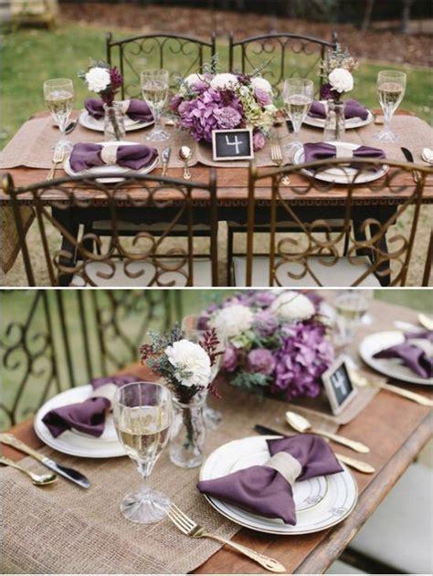 Sweet Heirloom Garden Wedding Inspiration Purple Wedding