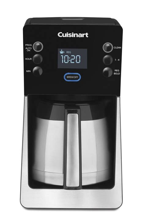 Find your coffee maker and view the free manual or ask other product owners your question. Cuisinart PerfecTemp™ 12-Cup Programmable Coffee Maker | Walmart Canada