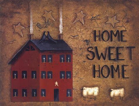saltbox home sweet home fine art print  john sliney