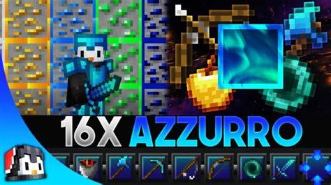 Azzurro 16x Mcpe Pvp Texture Pack Gamertise