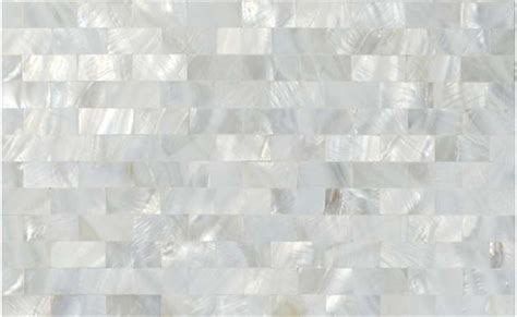 1 16 inches thickness seashell subway tile mother of pearl