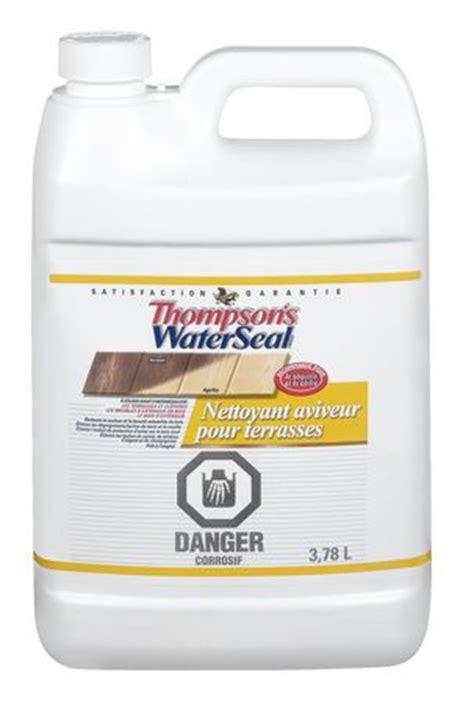 Thompsons Waterseal Deck Wash Thompson S Waterseal Deck Cleaner And Brightener Walmart Ca