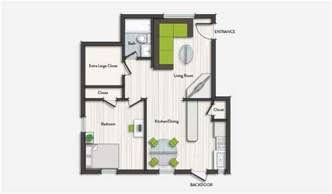 One Bedroom Apartments In Miami by Design District Apartments Design Place Miami Living