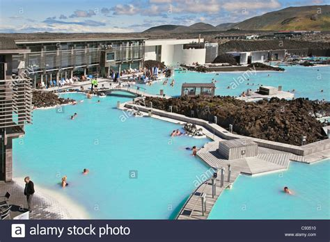 The Blue Lagoon Geothermal Spa In Southwest Iceland Is The