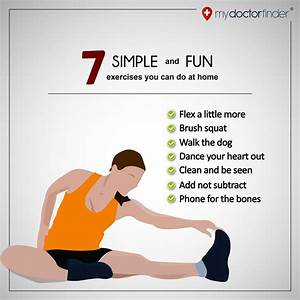 7 Simple And Fun Exercises You Can Do At Home