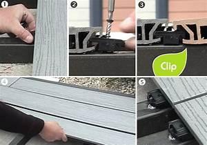 Pose Lame De Terrasse Composite Sans Lambourde : poser une terrasse composite sur lambourdes composites ~ Premium-room.com Idées de Décoration