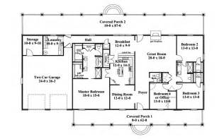 floor plans for 1 story homes linwood one story home plan 028d 0072 house plans and more