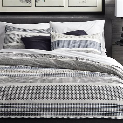medina duvet covers  pillow shams crate  barrel