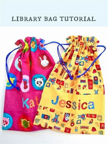 Library Bag Tutorial Bags Projects Computer Instructions