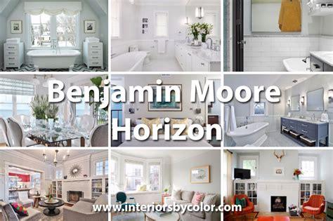 pale blue sofas benjamin horizon interiors by color