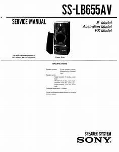 Sony Ss-lb655av