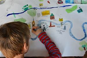 Draw a map of your city Babyccino Kids: Daily tips