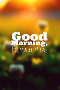 Good Morning, Beautiful! | The Fresh Quotes