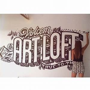90 best makes my mind smile images on pinterest drawings for Wall letter designs
