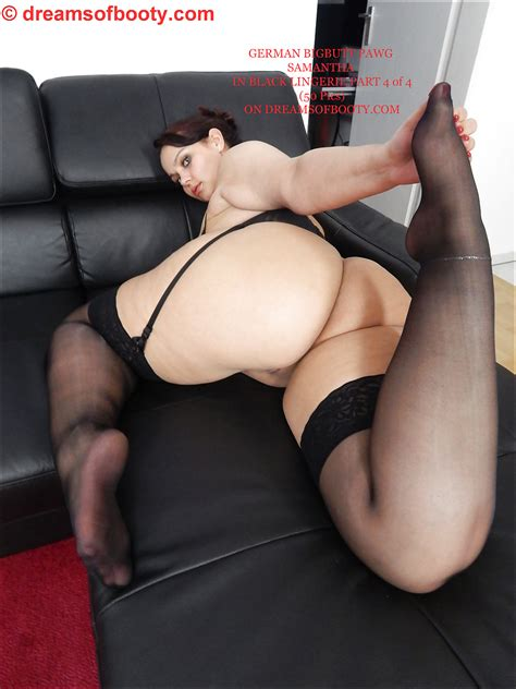 German Bbw Pawg Samantha In Black Lingerie Part 4 1 Pics
