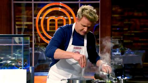 masterchef cuisine gordon ramsay cooking deconstructing a lobster to