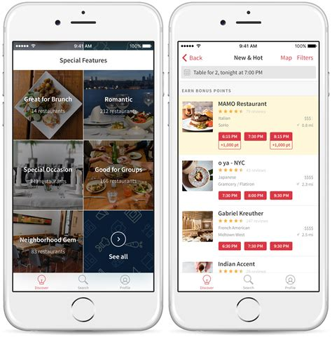 opentable discover app redesign helps travelers locals
