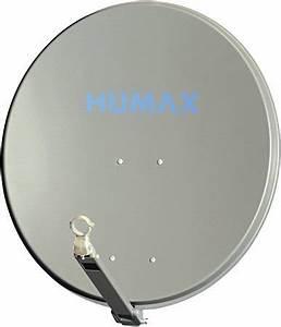 Sat Schüssel Installieren : humax 90 cm anthrazit satellitensch ssel test 2018 2019 ~ Frokenaadalensverden.com Haus und Dekorationen
