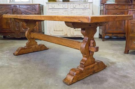 vintage trestle table antiques antique trestle table 3261