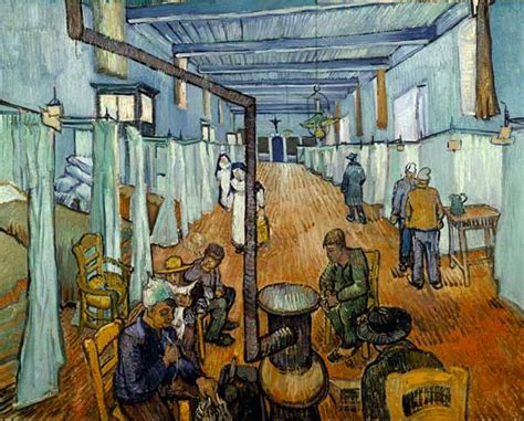chambre à coucher gogh dormitory in the hospital in arles vincent gogh