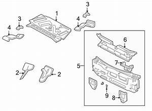 Ford Focus Rear Body Panel  Sedan  Inner  Floor  Upper