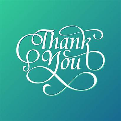 Thank Typography Vector Decorative Graphics Phrases Scrabble