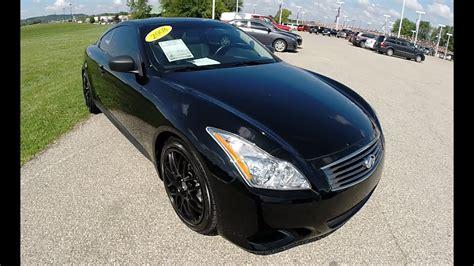 infiniti  sport luxury coupe black