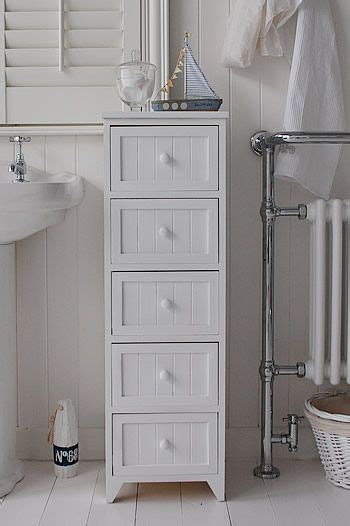 drawer tall narrow bathroom cabinet   maine