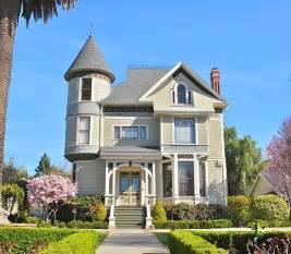 Queen Anne Victorian House California