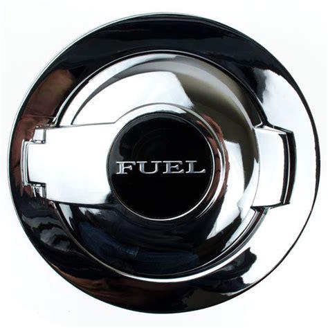 challenger fuel door 08 16 chrome fuel door gas cap door lid cover ebay