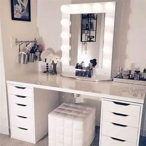 Miroir Maquillage Ikea : les 25 meilleures id es de la cat gorie miroir lumineux ~ Teatrodelosmanantiales.com Idées de Décoration