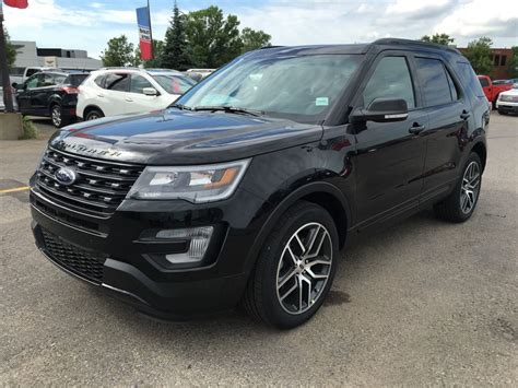2017 Ford Explorer Sport by New 2017 Ford Explorer Sport In Calgary 17ex5822 Maclin