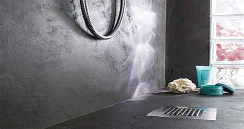 enduit pour plan de travail cuisine relooker sa salle de bain avec du béton minéral c 39 est top déco