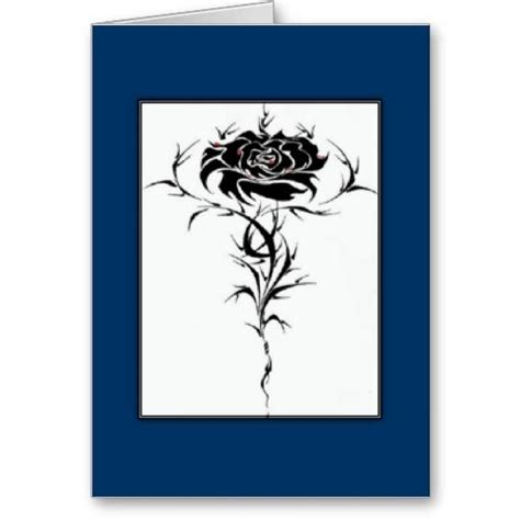 black rose greeting card  images greeting cards