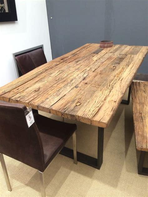 Tisch Aus Altem Holz by Die Besten 25 Esszimmertisch Massiv Ideen Auf
