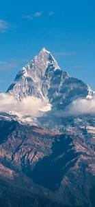 himalayas 4k wallpaper mountain peak clouds mountains