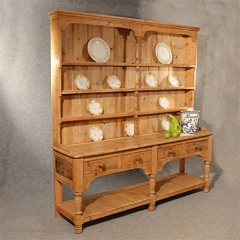 country kitchen dressers antique large pine dresser country kitchen 2791