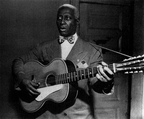 Oh Yeah, This Guy Representing The Leadbelly's..