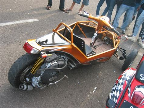 Modivikasi Mx by Motorcycle Modification Modivikasi Motor Vespa 2009